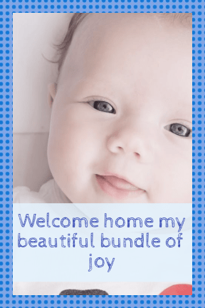 Welcome home baby #newborn #anniversary #baby