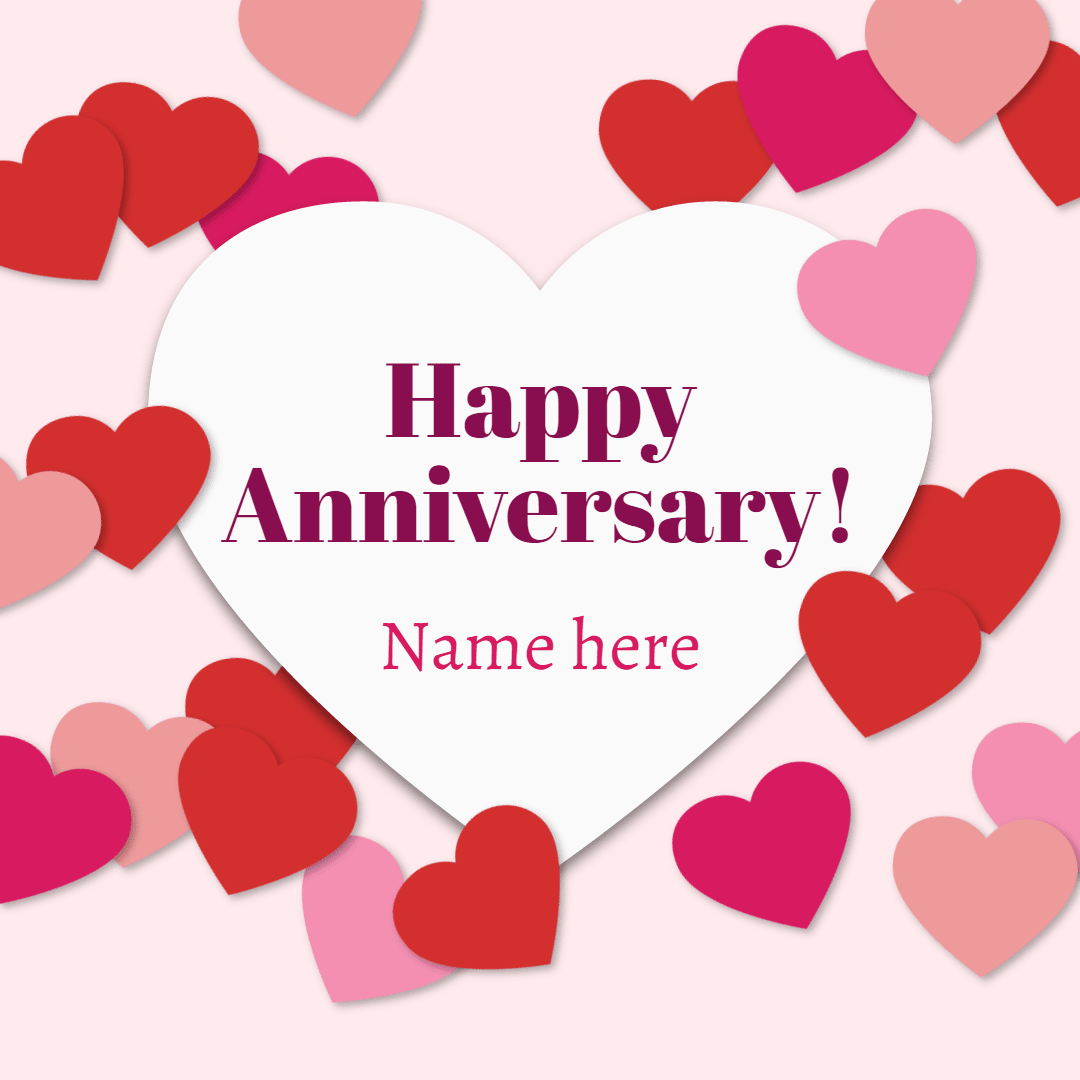 Happy anniversary #anniversary #love Design  Template