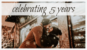 Celebrating 5 years #anniversary #celebrating