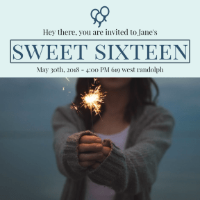 Sweet sixteen#anniversary #invitation #sweetsixteen