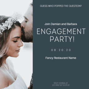 Engagement party #party #invitation #anniversary #engagement