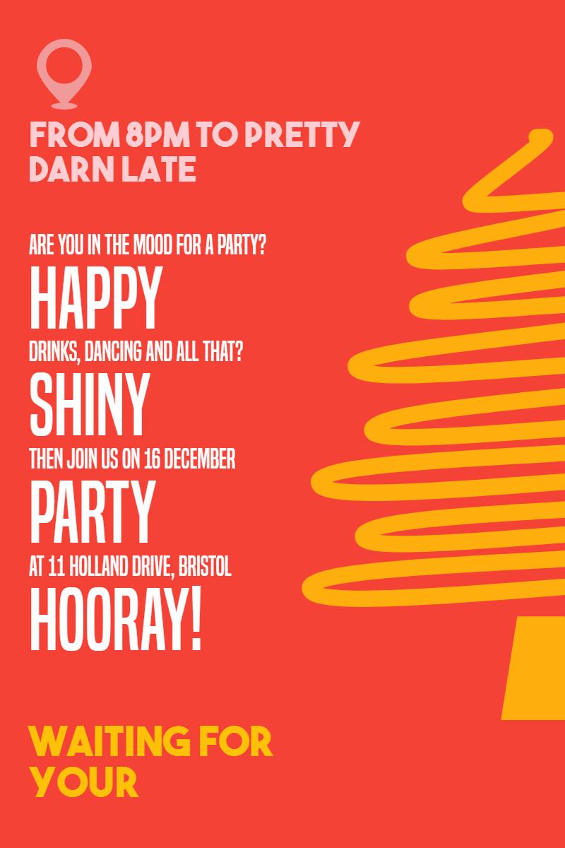 Christmas,                Anniversary,                Holiday,                Invitation,                Happynewyear,                Yellow,                Red,                 Free Image