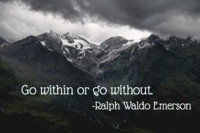 Ralph Waldo Emerson, May Newsletter
