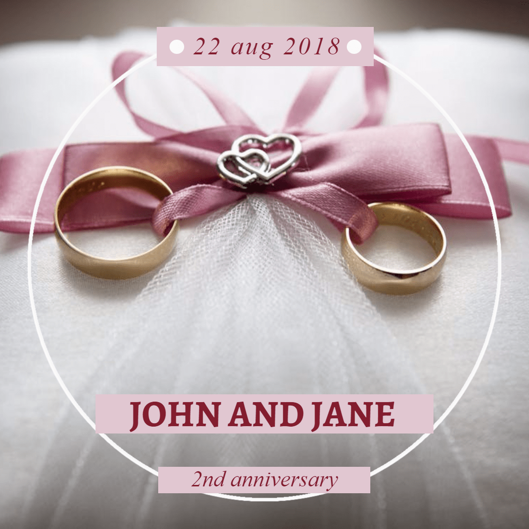 Anniversary #anniversary #invitation Design  Template