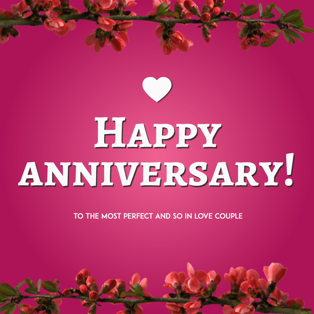 Happy anniversary anniversary image customize download it for flower pink flora text petal anniversary couple m4hsunfo