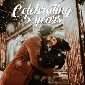 Celebrating 5 years #anniversary #celebrating