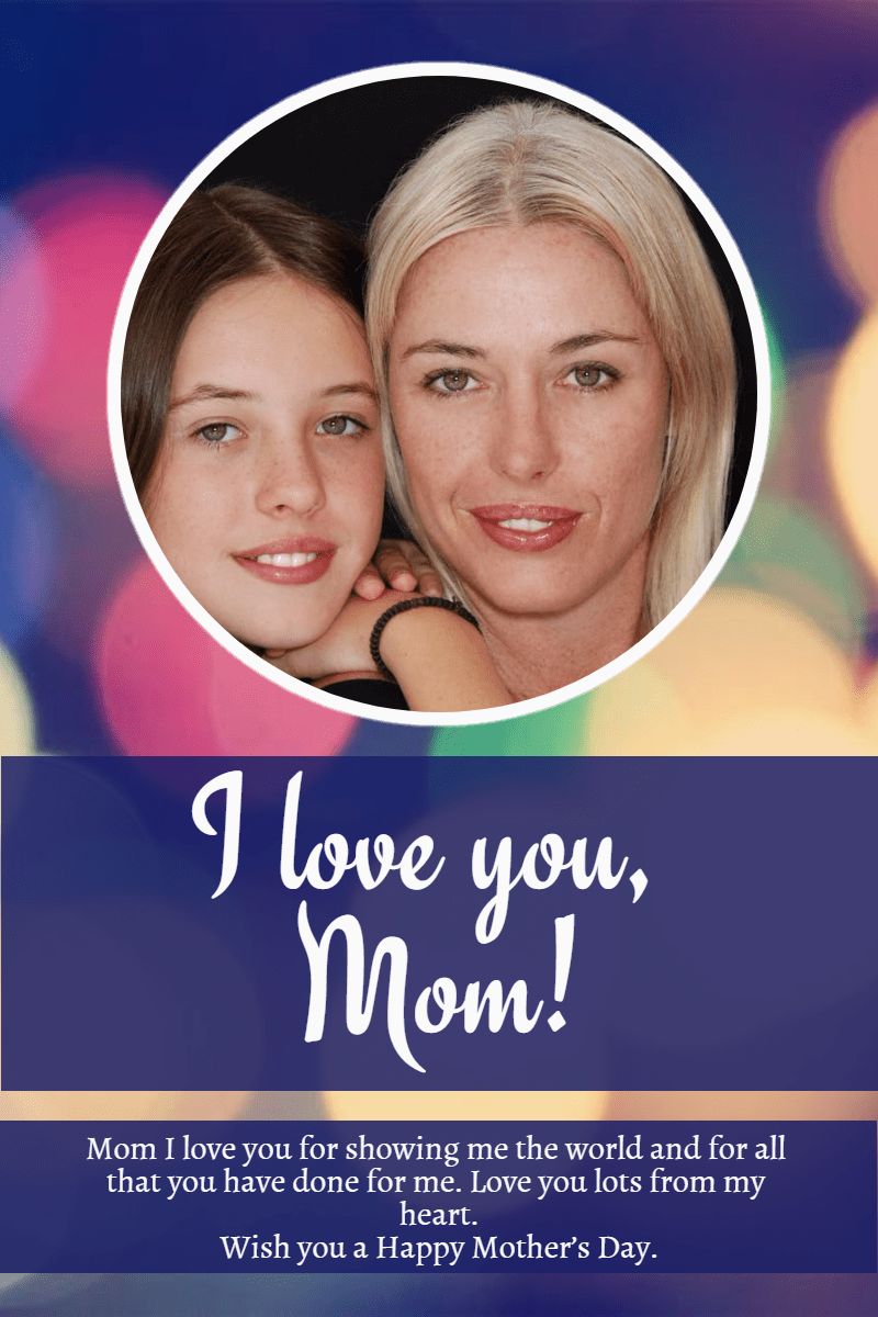 Happy mother's day! #anniversary Design  Template