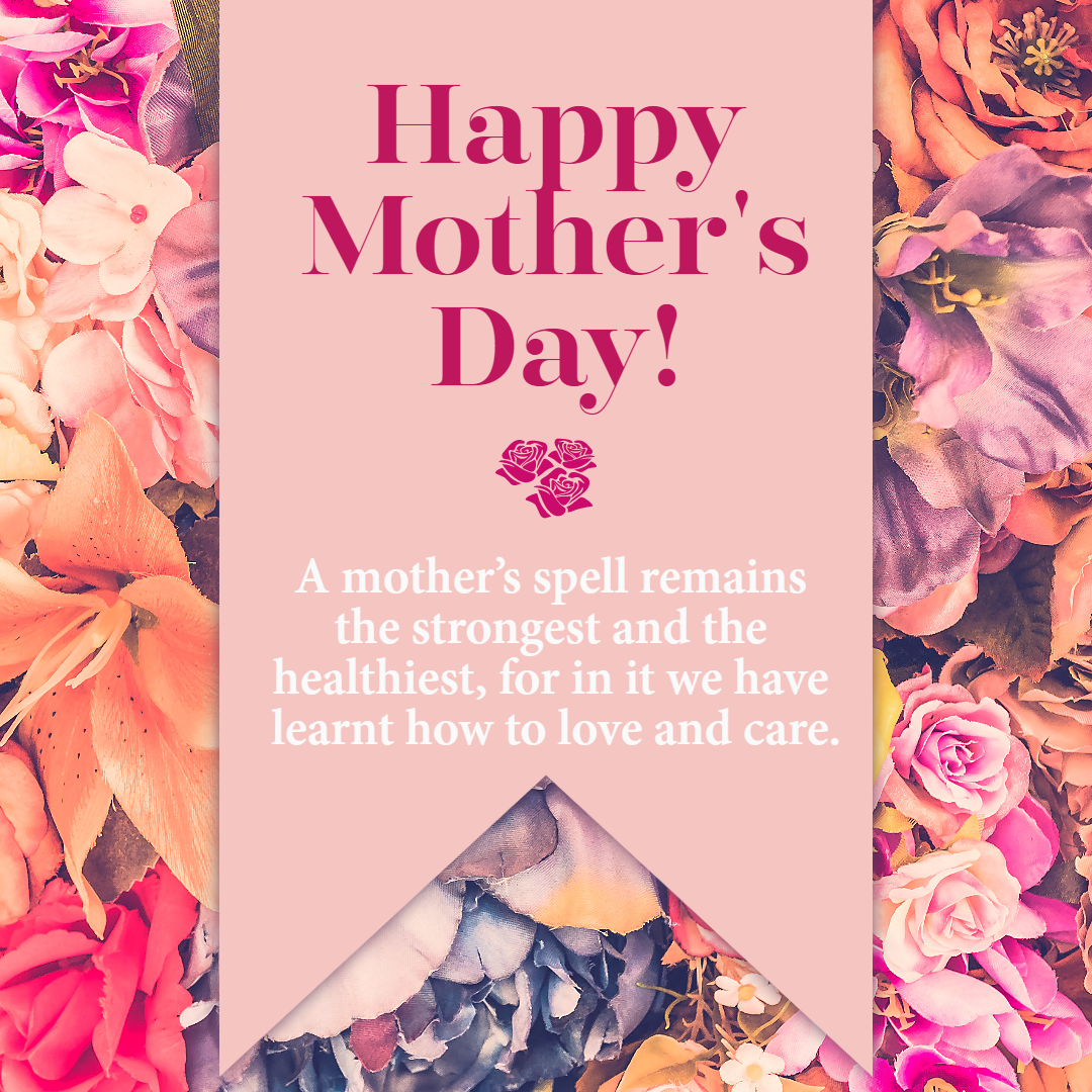 Happy mother's day #mothersday #love Design  Template