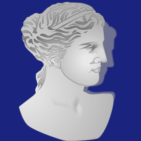 Classical bust