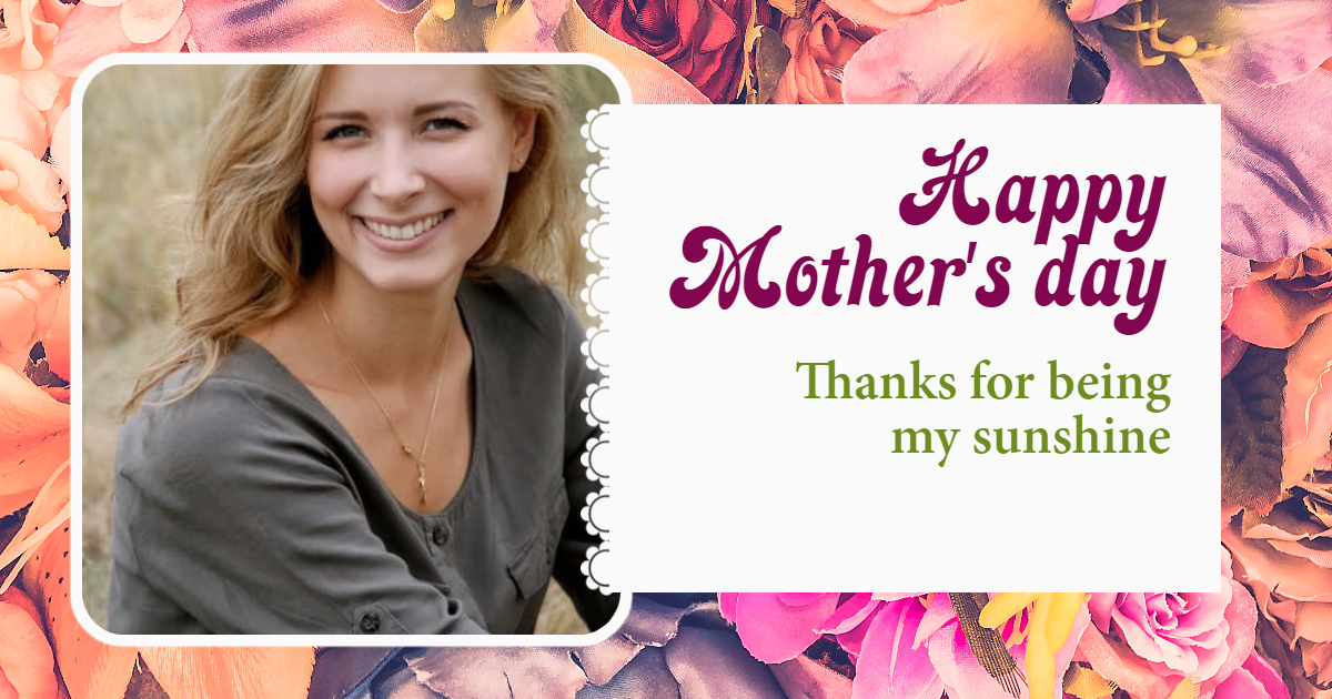 Happy mother's day #anniversary Design  Template