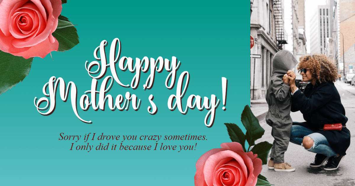 Happy mother's day # love #mother Design  Template