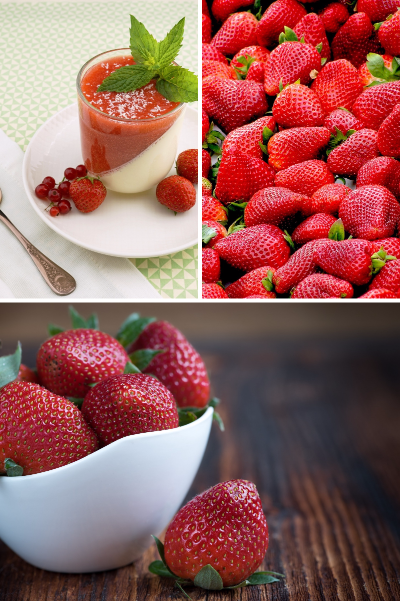 Strawberry, Strawberries, Food, Fruit, Produce, College, Photos, Images, White, Black, Red,  Free Image