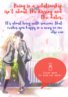 Kaori and Kousei #love #poster #quote #announcement