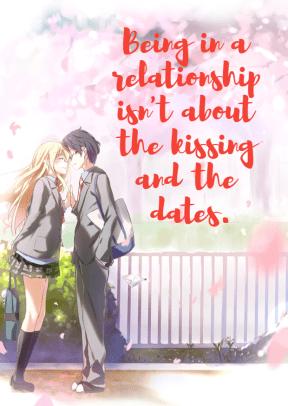 Kaori and Kousei #love #poster #quote #announcement