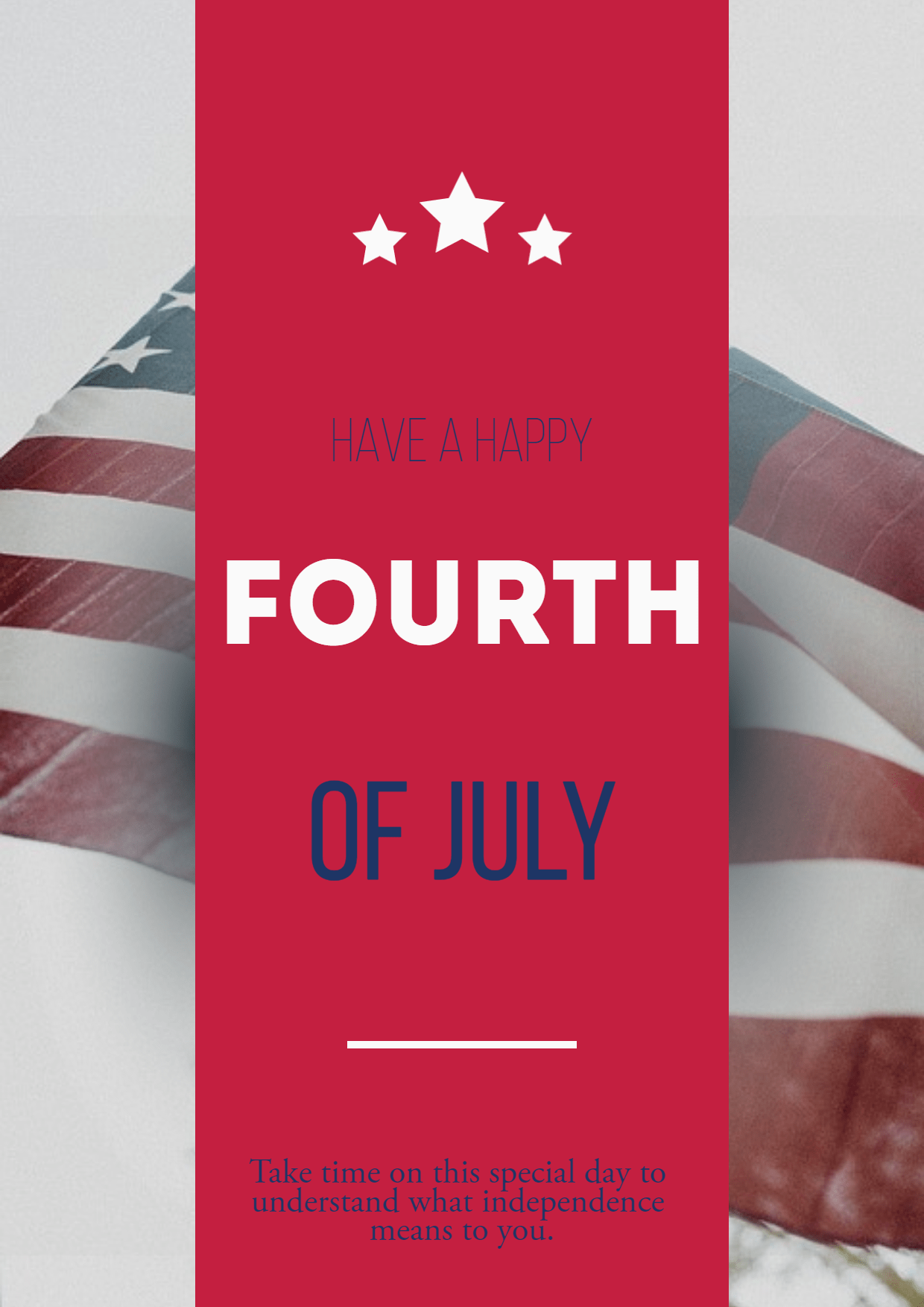 Happy fourth of July #anniversary Design  Template