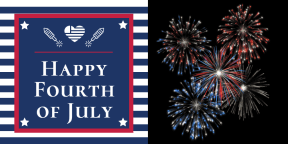 Happy Fourth of July #anniversary #4thofjuly #happyforthofjuly #independenceday #independence #day #america #redwhiteandblue