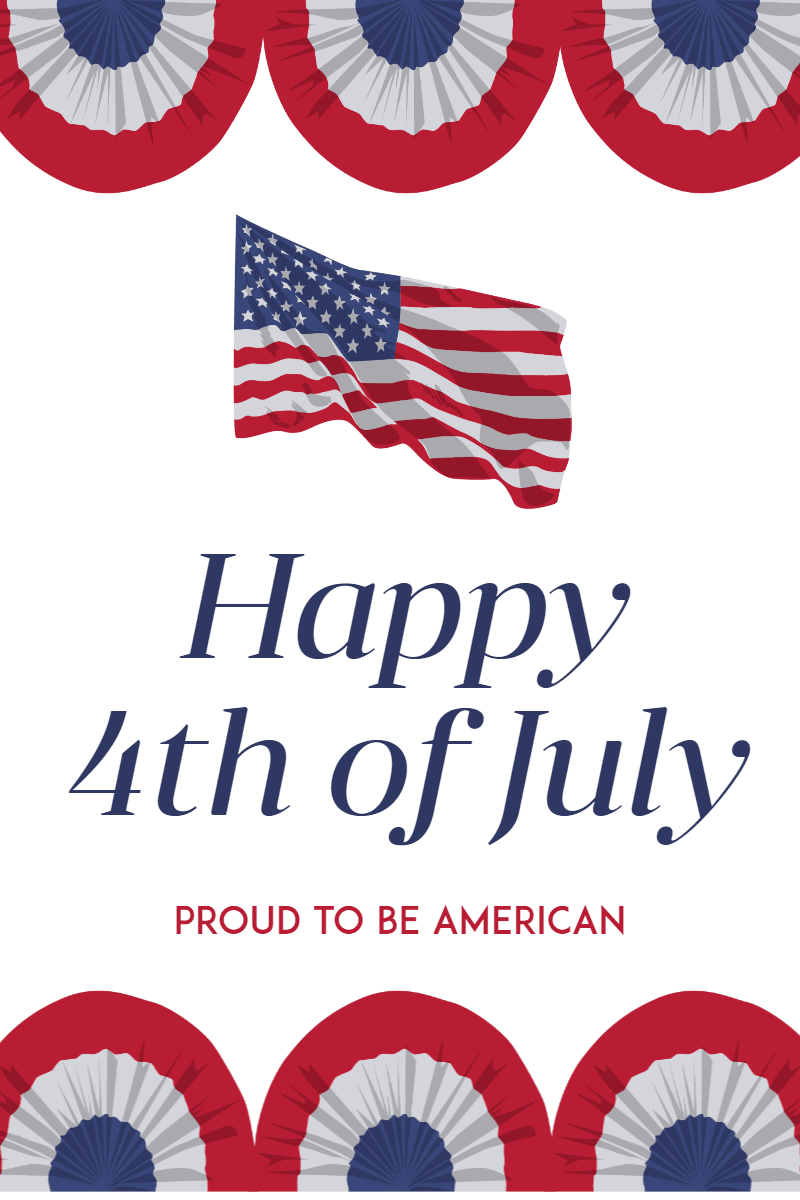 Happy 4th of July #4thofjuly Design  Template