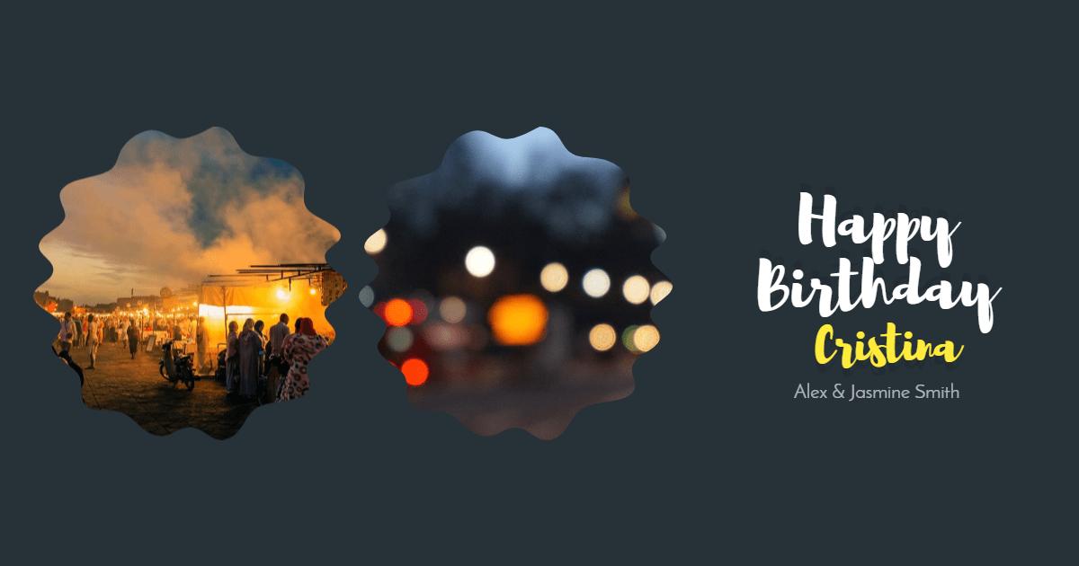 #anniversary #collage Design  Template