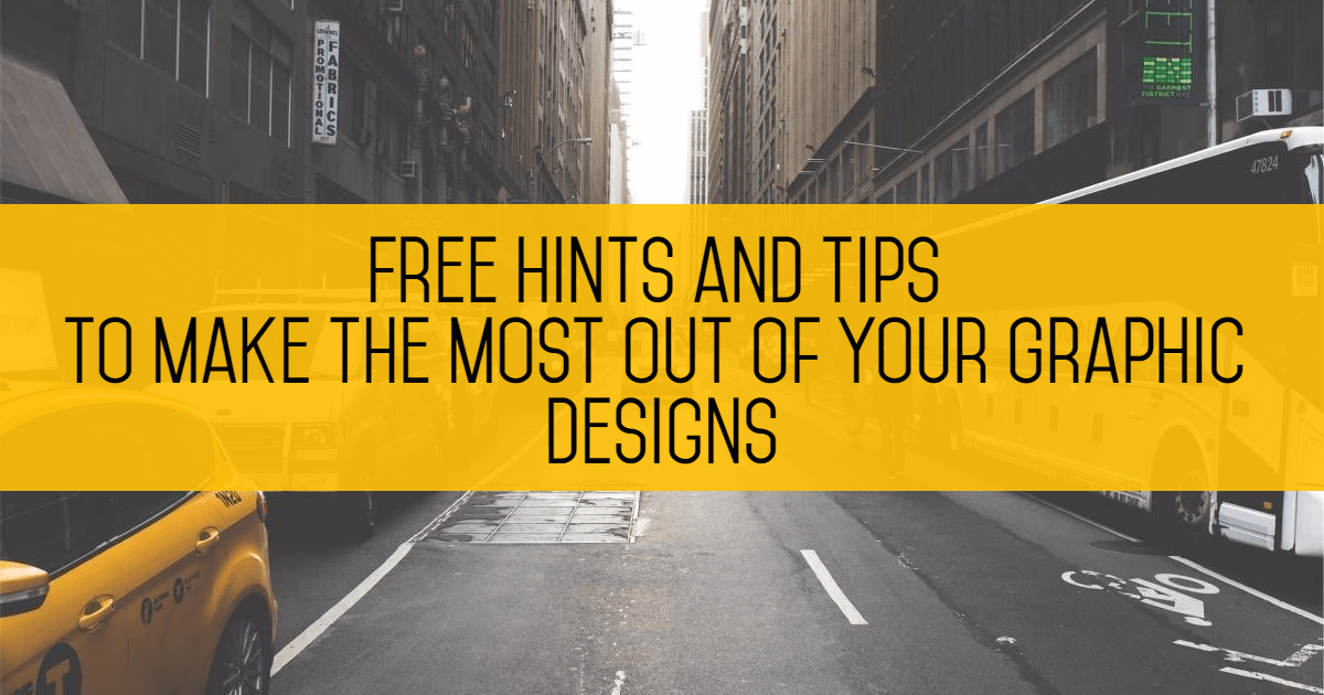 Free hints & tips to make the most Design  Template