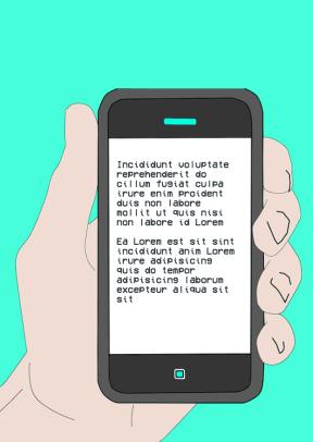 #poster #mockup - iphone, phone