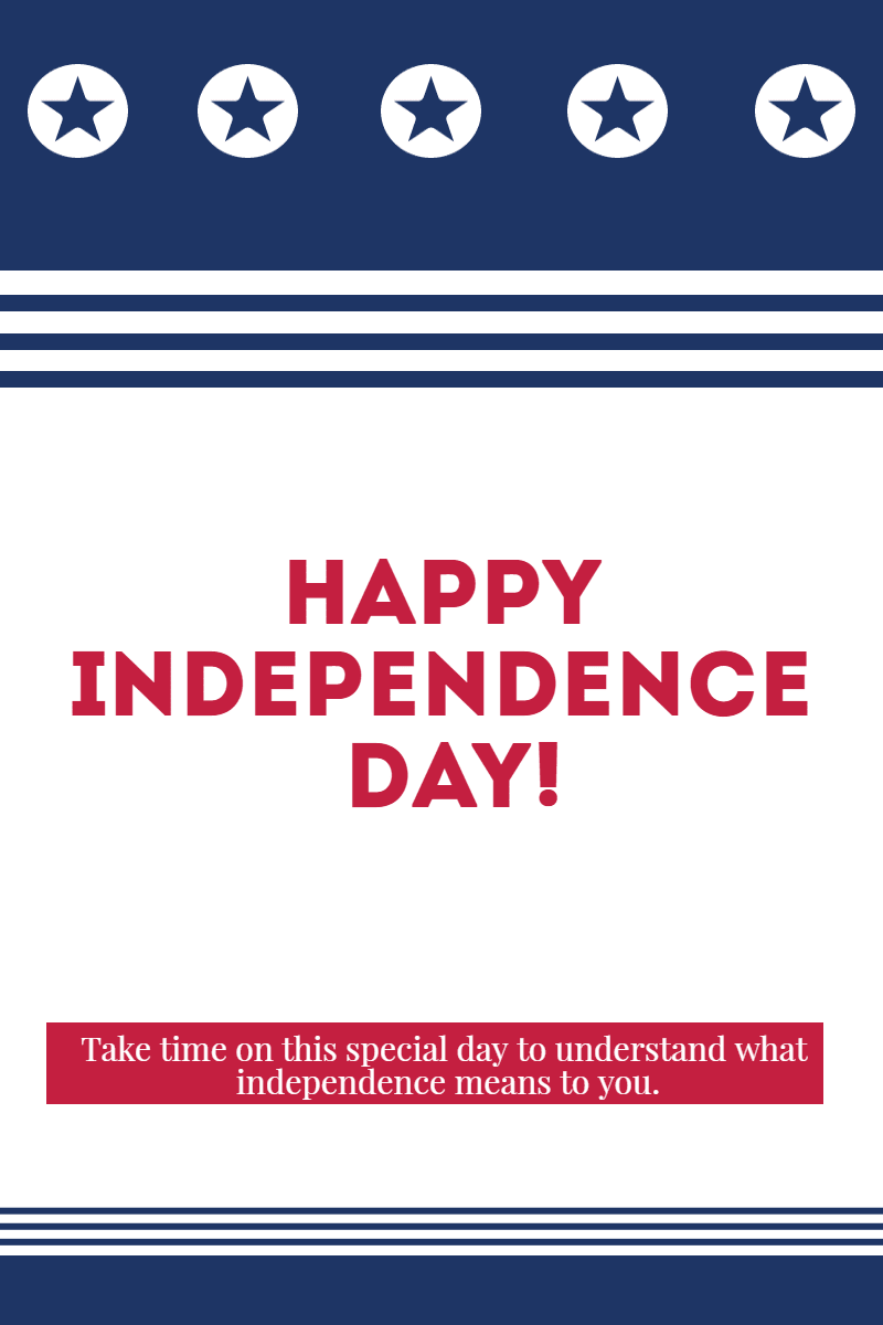 Happy Independence Day #anniversary Design  Template