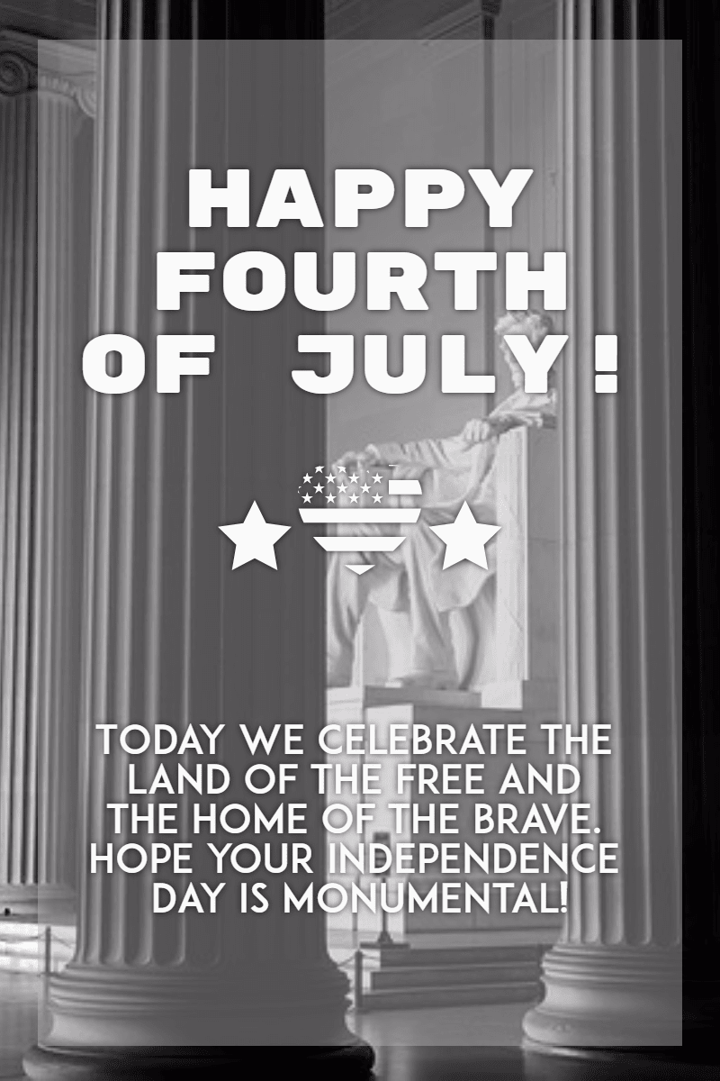 Text, Black, And, White, Advertising, Font, Poster, 4thofjuly, Happyforthofjuly, Independenceday, Independence, Day, America,  Free Image