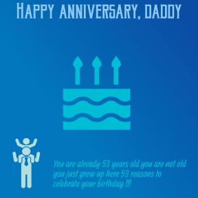 Joyeux anniversaire, papa