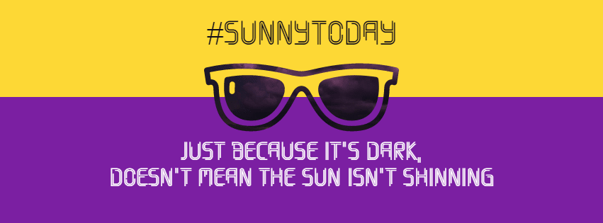 sunshine #avatar #poster #quote Design  Template