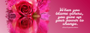 Rose Flawer Blame #love #poster