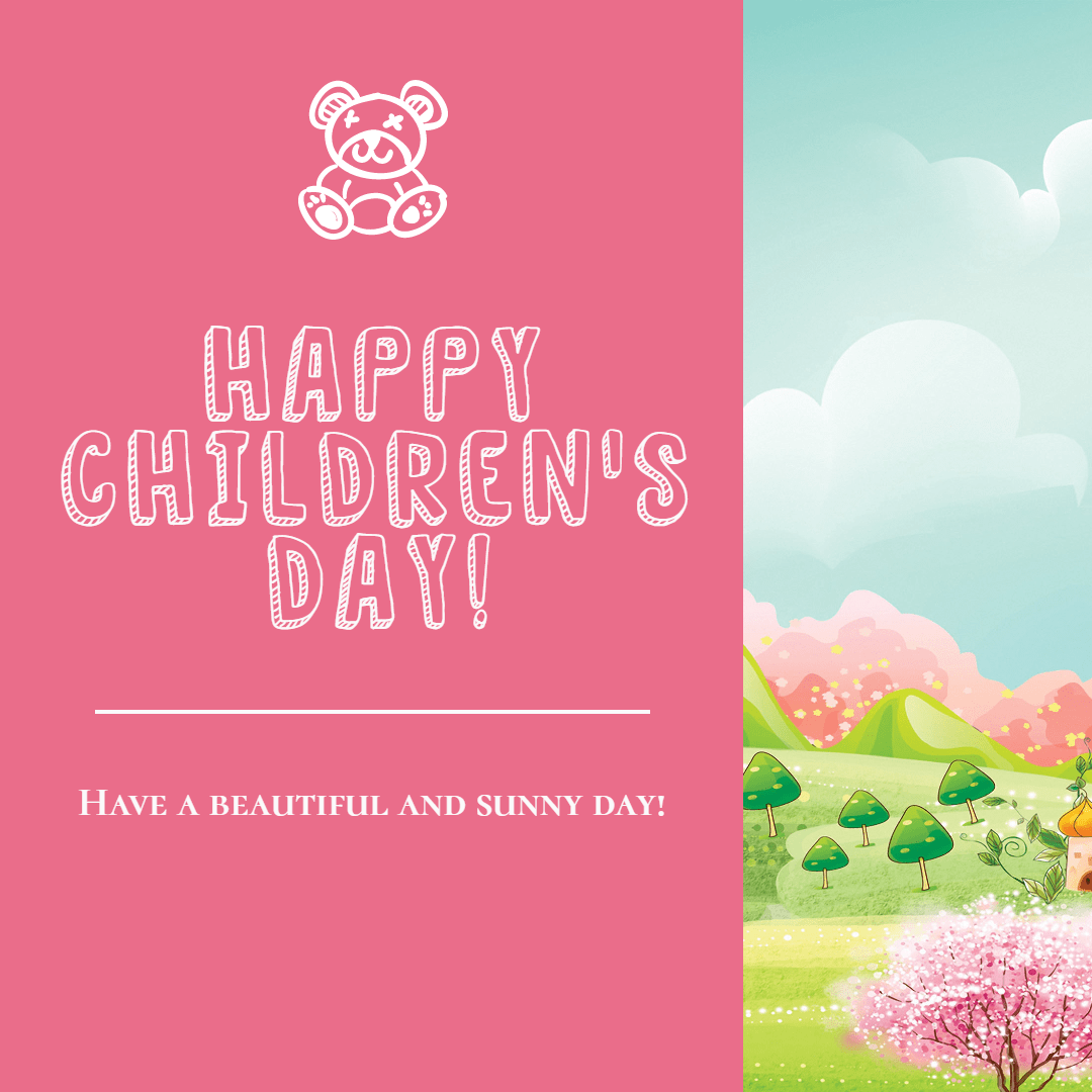 Happy Children's Day #children # Design  Template