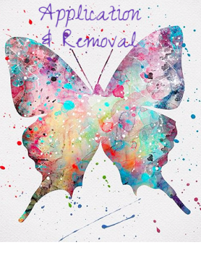 application removal butterfly