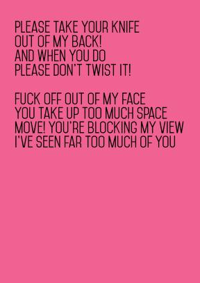 Please Take