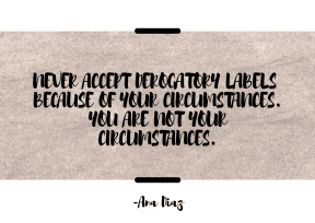 Don't Accept Labels #poster