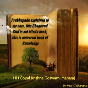 this Bhagavad Gita is not Hindu book, this is universal book of Knowledge