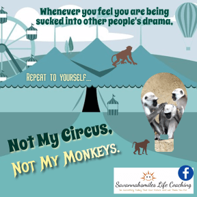 Not my circus, not my monkeys...