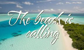 The beach is calling #summer #waves #beach #love #freedom #ocean #vacation #anniversary