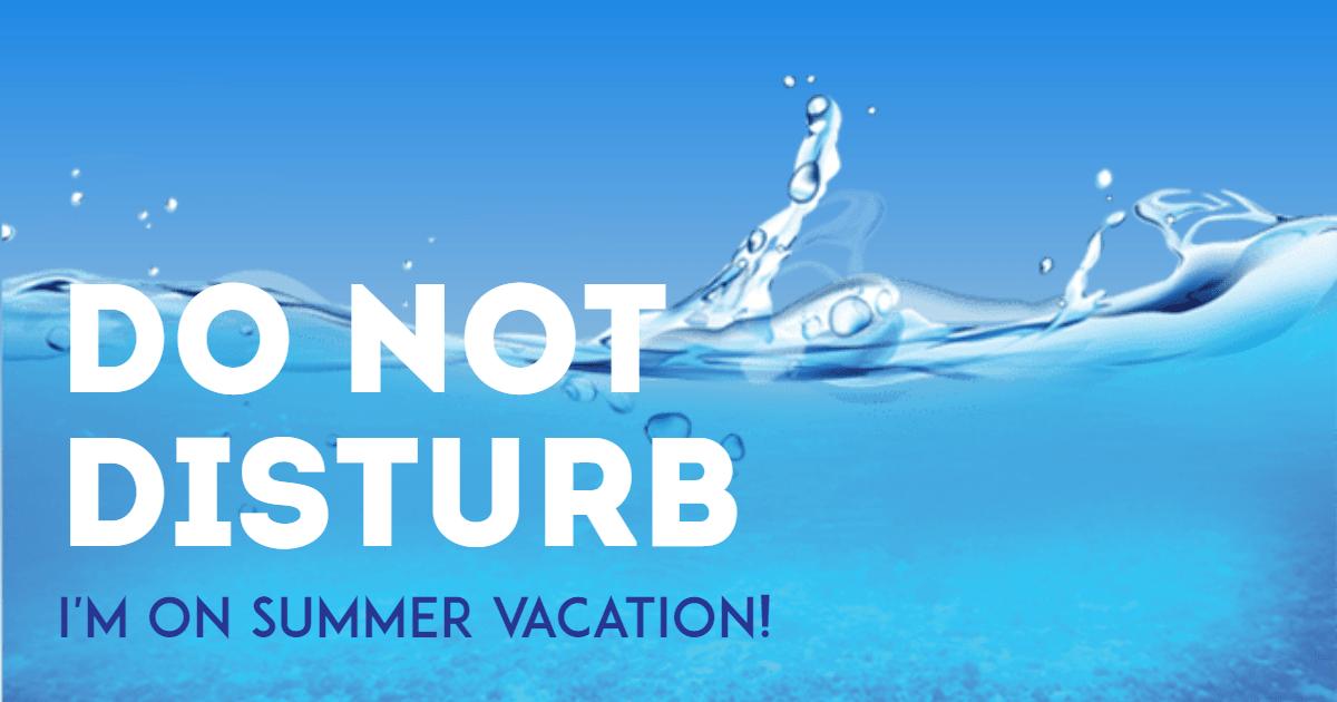 Summer vacation #summer #waves Design  Template