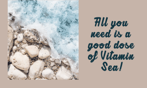 Vitamin Sea #summer #ocean #beach #fun #vacation #vibes #waves #sea