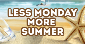 Less Monday More Summer #summer #ocean #beach #fun #vacation #vibes #waves #sea