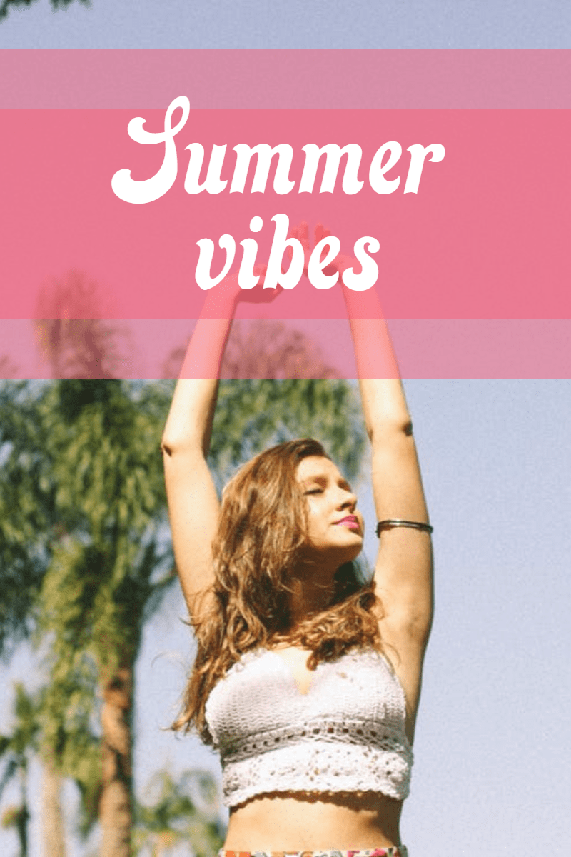 Summer vibes #summer #ocean #beach Design  Template