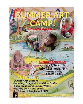 kids summer art acmp