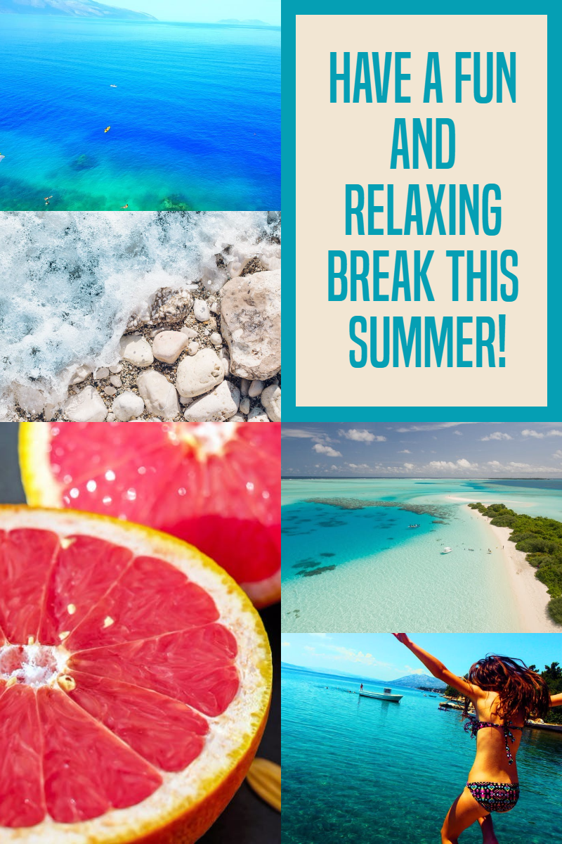 Summer time #summer #ocean #beach Design  Template