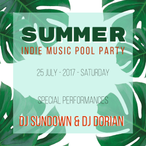 Summer Party  #invitation #summer #socialmedia #fun #vacation #fun