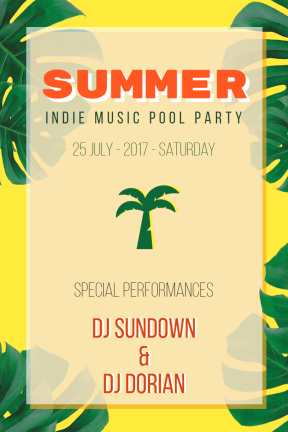 Summer Party  #invitation #summer #socialmedia #fun #vacation #fun