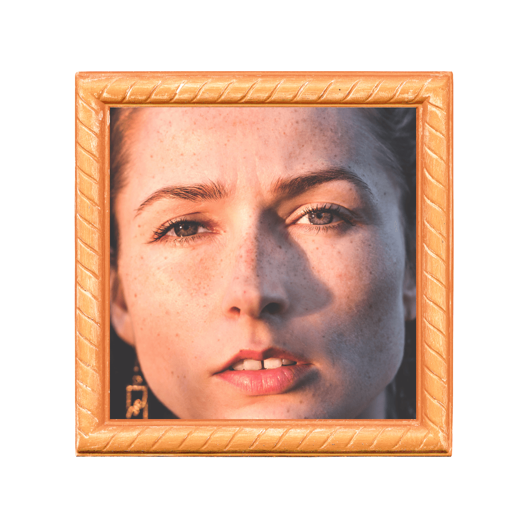 Face,                Picture,                Frame,                Nose,                Modern,                Art,                Painting,                Mockup,                Image,                Avatar,                White,                Yellow,                 Free Image