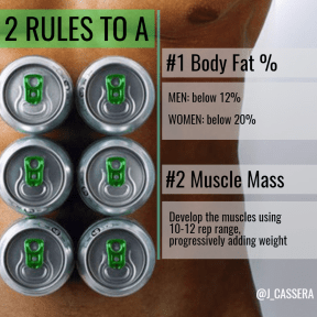 2 steps to 6 pack