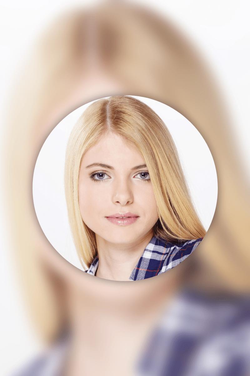 Hair,                Face,                Blond,                Photography,                Beauty,                Mockup,                Frame,                Image,                Avatar,                White,                 Free Image