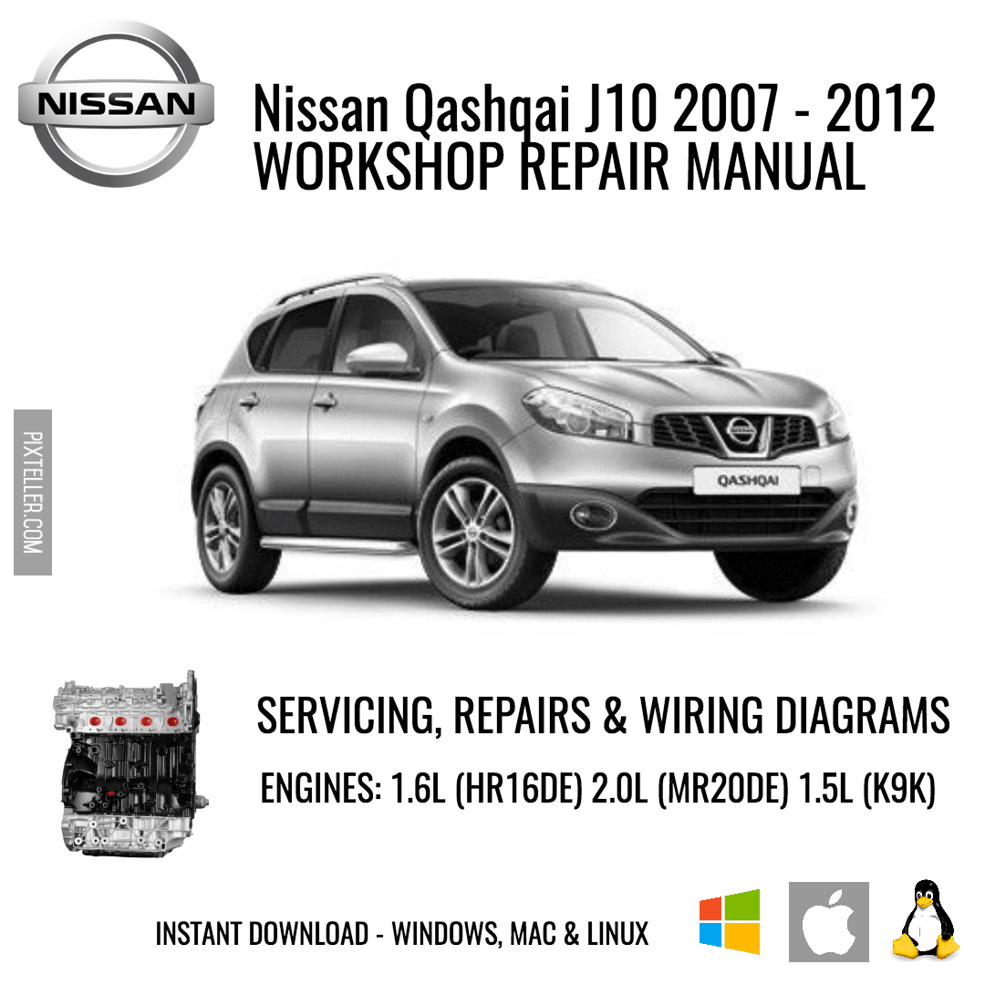 Nissan Qashqai J10 Service Manual Download Recomended Car Wiring Diagram Image Customize It For Free 97404