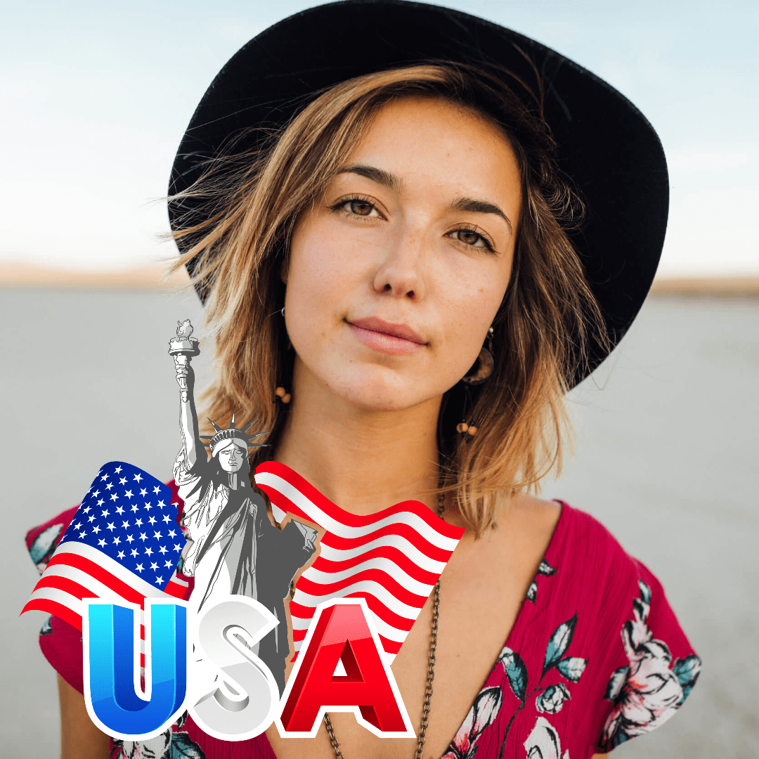 Clothing, Person, Girl, Beauty, Smile, Avatar, 4thofjuly, Happyforthofjuly, Independenceday, Independence, Day, America, Anniversary,  Free Image