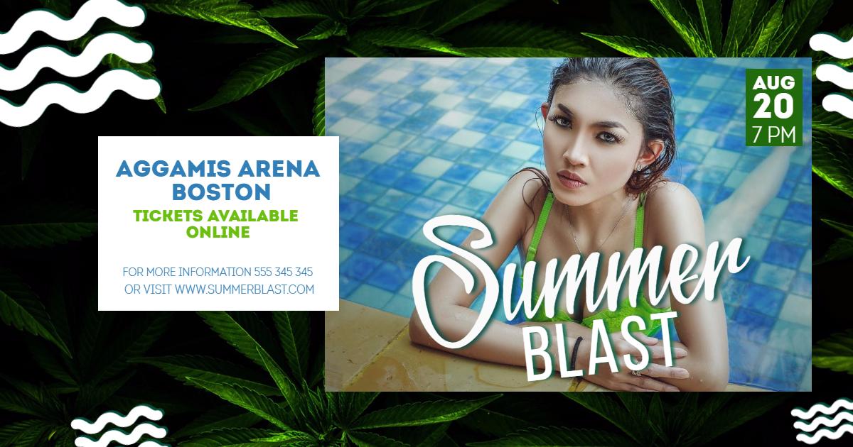Advertising,                Jungle,                Invitation,                Summer,                Music,                Poster,                Vacation,                Vibes,                White,                Black,                Aqua,                 Free Image
